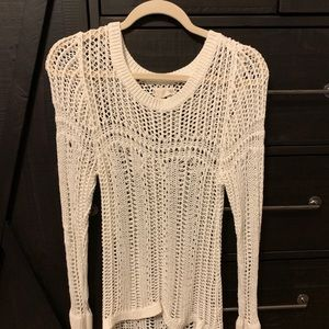Billabong crochet long sleeve